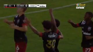 Demostrando calidad, Andy Najar vuelve a ser titular con el DC United en el triunfo ante Inter Miami