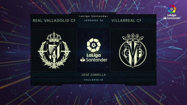 LaLiga Santander (Jornada 36): Valladolid 0-2 Villarreal