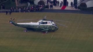 Donald y Melania Trump dejan la Casa Blanca sin asistir a la toma de posesión de Joe Biden (Cortesía)