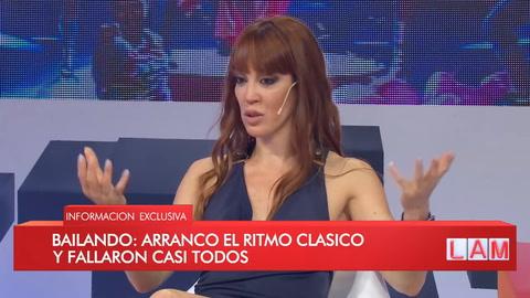Miriam Lanzoni reveló la única discusión de su divorcio con Fantino