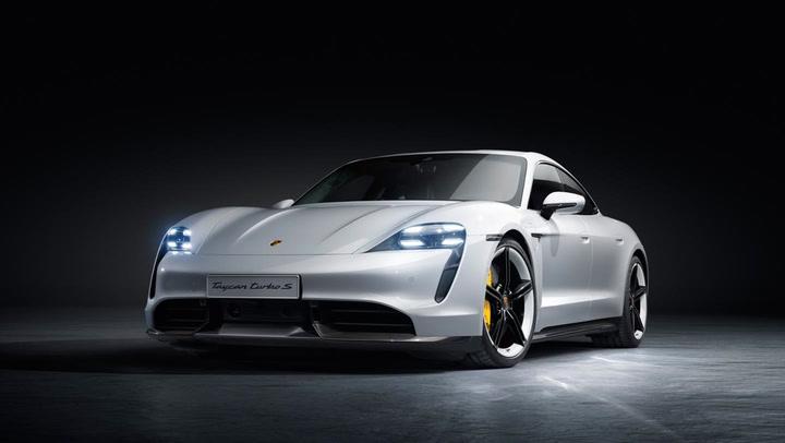 Así luce el totalmente eléctrico Porsche Taycan