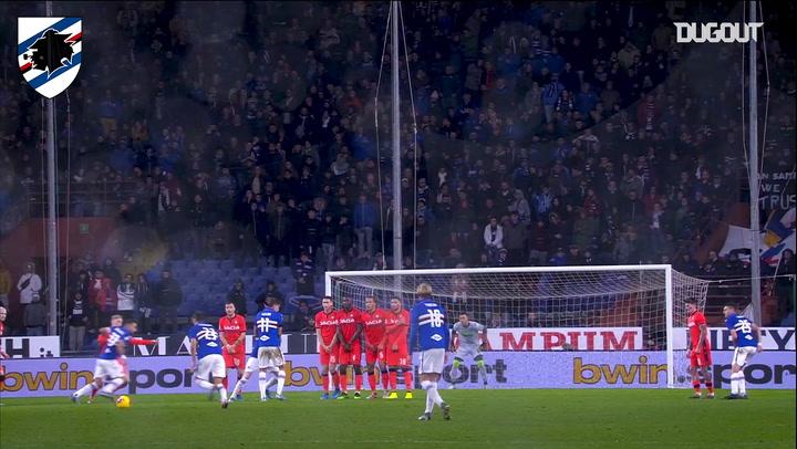 Sampdoria's best home goals against Udinese
