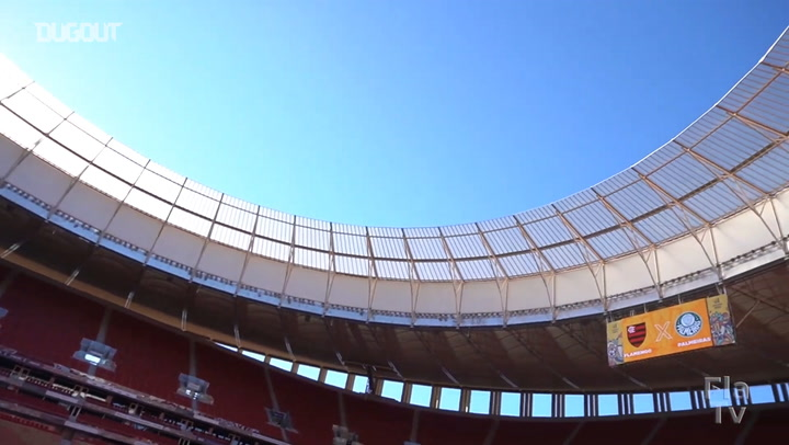 Behind the scenes of Flamengo's 2021 Brazilian Supercup title