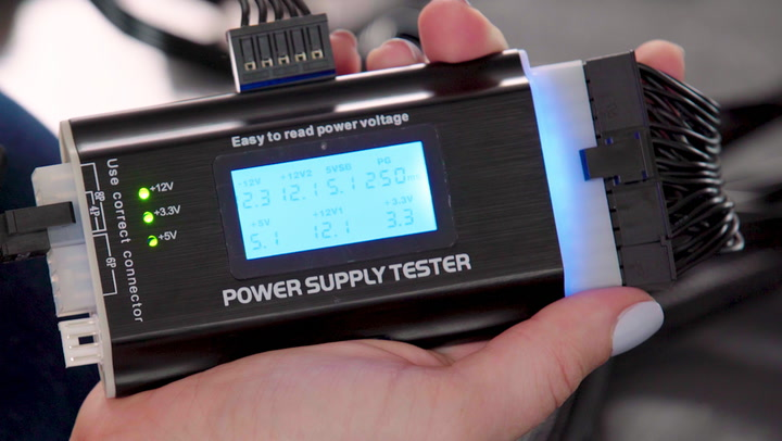 How to Test the Power Supply in a Computer
