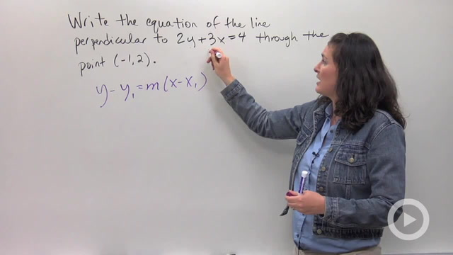Parallel and Perpendicular Lines - Problem 3