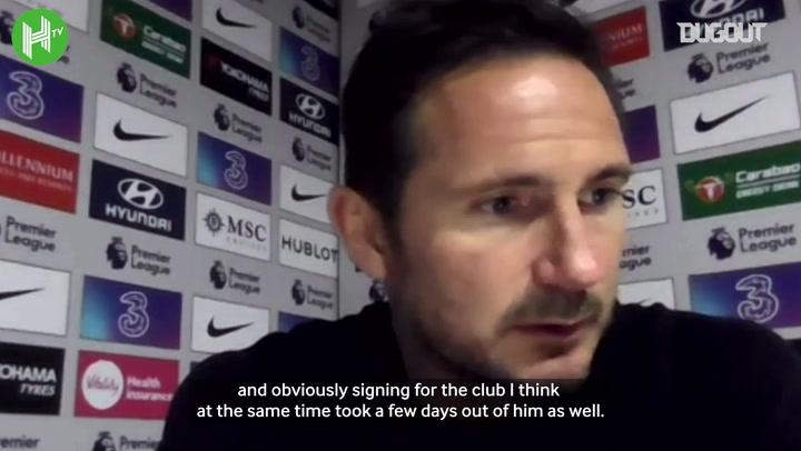 Frank Lampard delighted with Kai Havertz goals, Thiago Silva's leadership