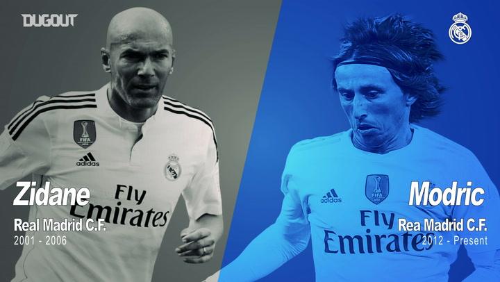 Past vs Present: Zidane Vs Modric