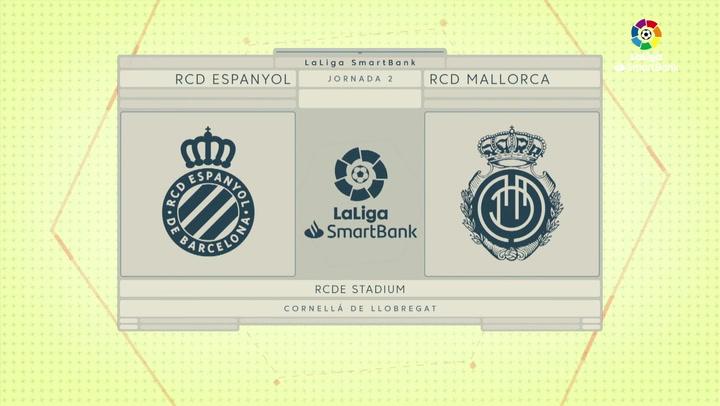 LaLiga Smartbank (Jornada 2): Espanyol 0-0 Mallorca