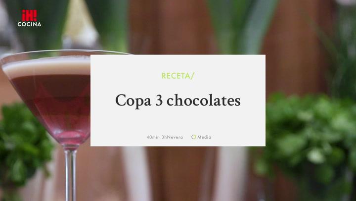 Copa Tres Chocolates