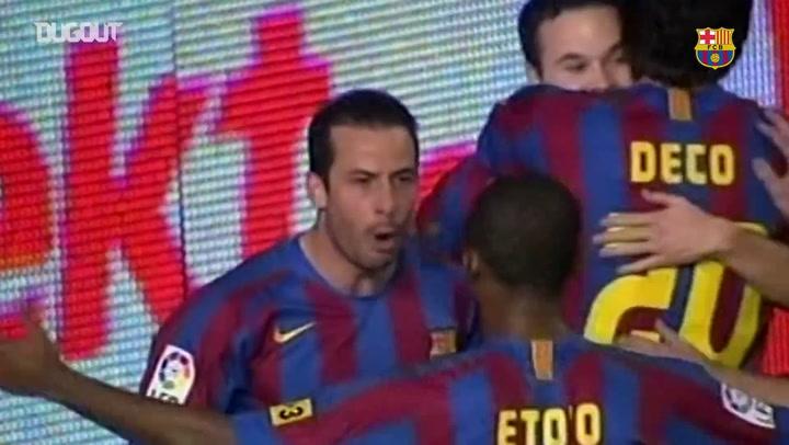 Nhìn lại: Ludovic Giuly Vs Cadiz (Tháng 12/2005)