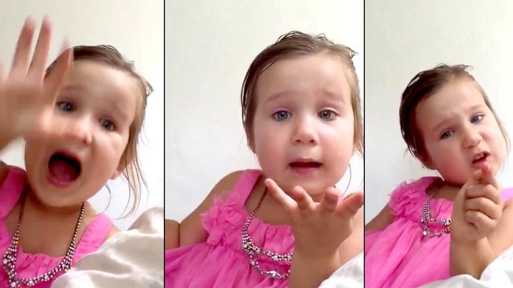 Jenta har skjønt det: – Jeg er INGEN prinsesse!