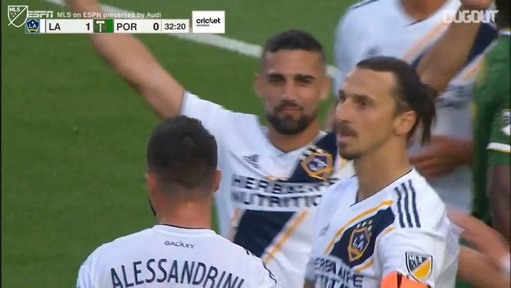Zlatan Ibrahimović's Penalty Brace Secures Win For LA Galaxy