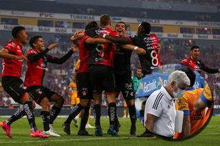 Atlas despacha a Tigres y avanza a los cuartos de final; Tuca Ferretti se marcha con dolorosa derrota