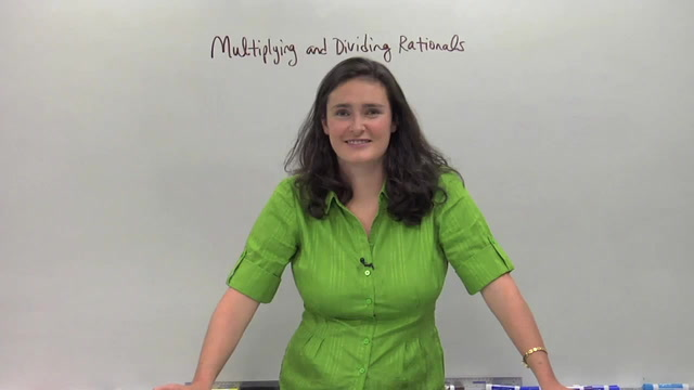 Multiplying and Dividing Rationals