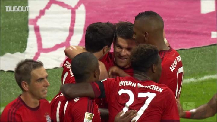 Lewandowski's Incredible Five Goals Vs Wolfsburg