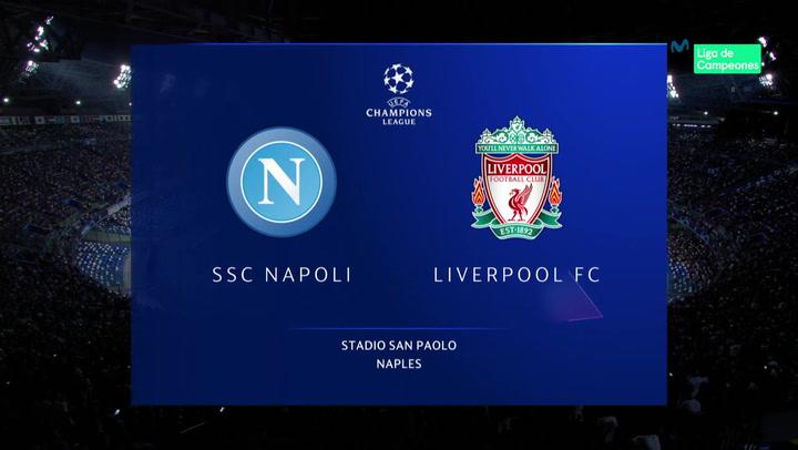 Champions League: Resumen y Goles del Nápoles-Liverpool