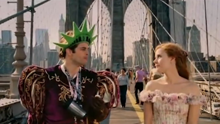 Enchanted trailer starring Amy Adams and Patrick Dempsey