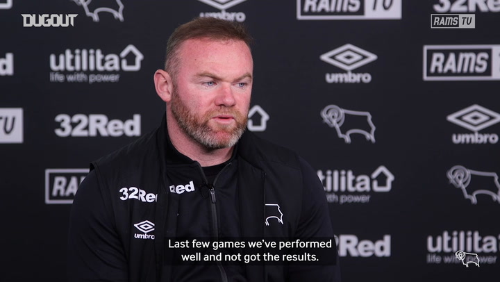 Rooney: It's a game we have to win
