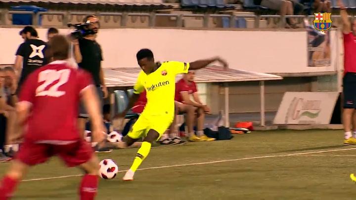 Así juega el senegalés Moussa Wague