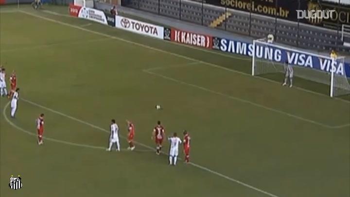 Santos' best hat-tricks ft. Pelé and Neymar