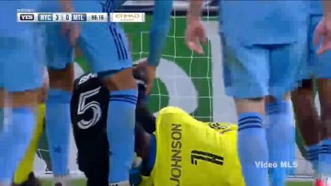 Romell Quioto anota gol en derrota del Impact Montreal ante New York City FC