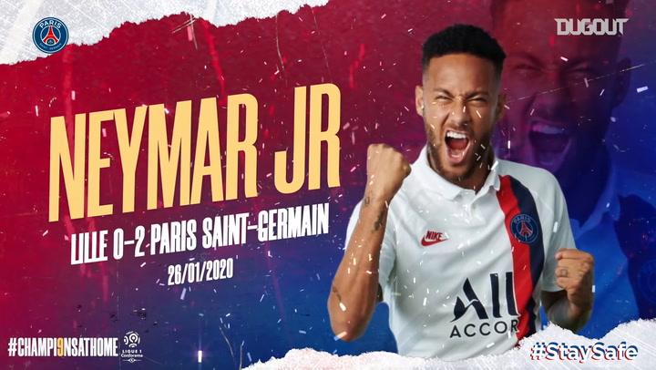 Paris Saint-Germain's best Ligue 1 goals of the season