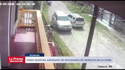Video muestra asesinato de estudiante de Derecho en La Ceiba
