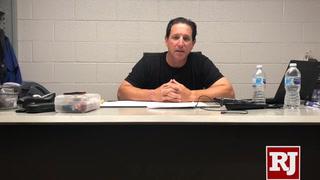 Tony DeFrancesco talks about the win over Tacoma