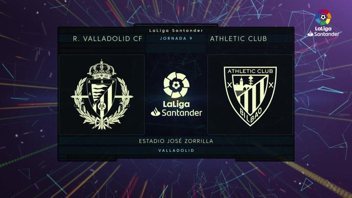 LaLiga (J9): Resumen y goles del Valladolid 2-1 Athletic