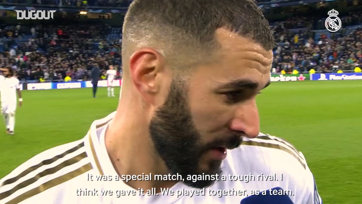 Benzema, Valverde and Kroos react to PSG draw