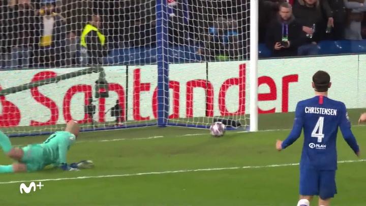 Champions League Chelsea-Bayern. Gol de Gnabry (0-2)