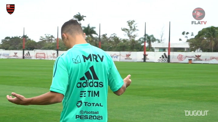 Flamengo's first training session after the draw against Grêmio