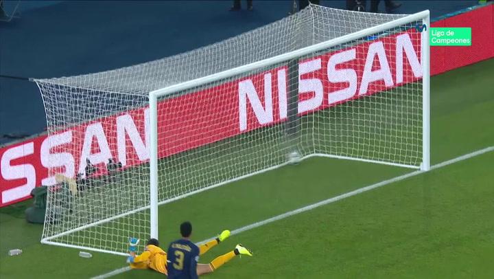 Champions League: PSG - Real Madrid. Gol de Di Maria (1-0)