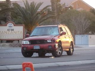 Pedestrian injured in northeast Las Vegas