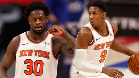 What are the odds Julius Randle or RJ Barrett win NBA's Most Improved Player?