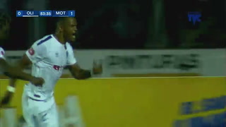 ¡GOOOOL DEL LEÓN! Rony Martínez marca el empate 1-1 al 84. Olimpia 1-1 Motagua