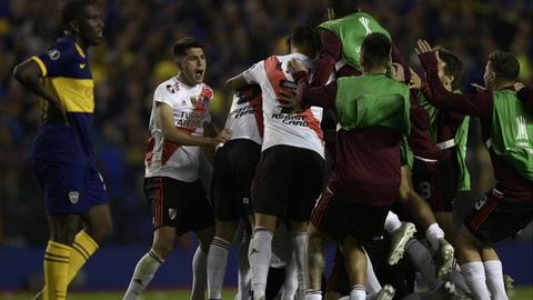 River, sin brillar, finalista de Copa Libertadores pese a perder con Boca 1-0