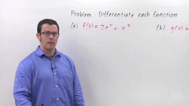 Derivatives of Exponential Functions - Problem 3
