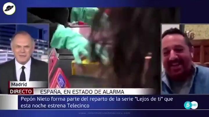 Twitter 'flipa' con las palabras de Pedro Piqueras a Pepón Nieto