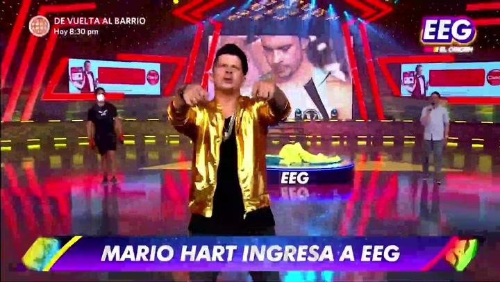 Mario Hart regresó a EEG tras cuatro años y Yaco Eskenazi le recordó la vez que se fue a 'Combate' repentinamente   VIDEO