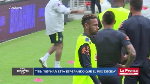 Neymar está esperando que el PSG decida
