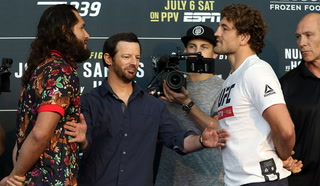 UFC 239 media day: Masvidal says he has faced tougher competition than Askren
