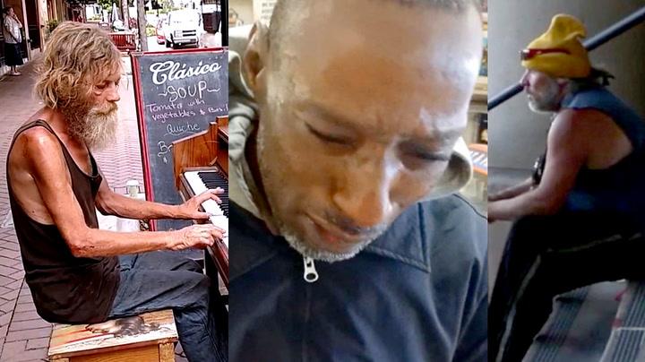 Tre hjemløse som rører oss til tårer