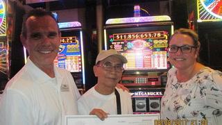 $11.8 million jackpot won in Las Vegas