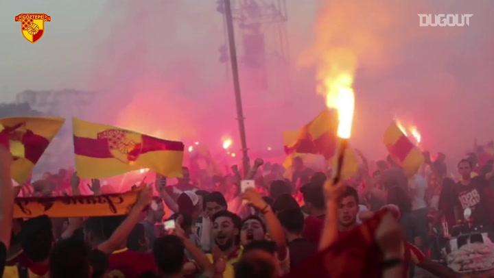 Göztepe Fans Can't Wait For The New Season!