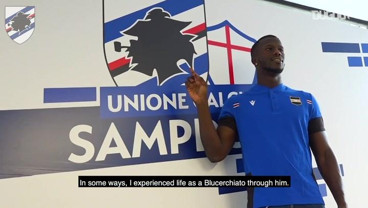 Keita Balde: Zero doubts over joining Sampdoria