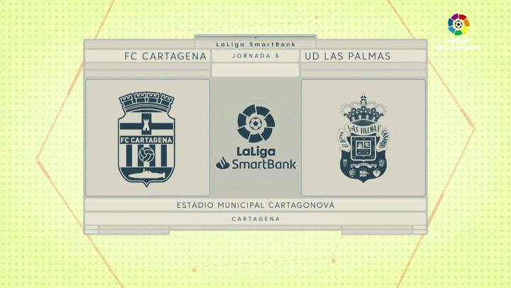 LaLiga SmartBank (J8): Resumen y goles Cartagena 3-0 UD Las Palmas