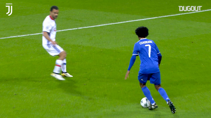 Cuadrado strike sees off Lyon