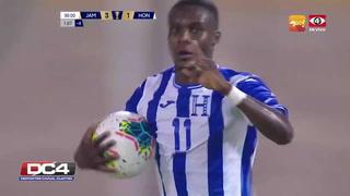 Rubilio Castillo anota el segundo para Honduras a pase de Emilio