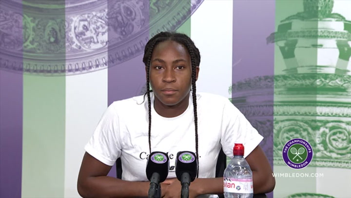 Serena Williams injury 'was hard to watch' - Coco Gauff feels for her idol at Wimbledon
